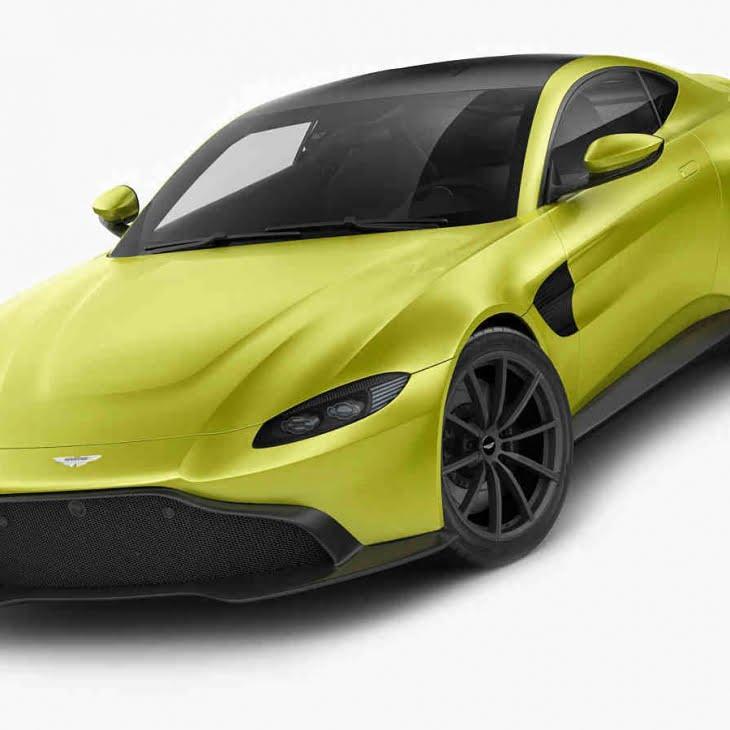 دانلود مدل سه بعدی اتومبیل Aston Martin Vantage 2019