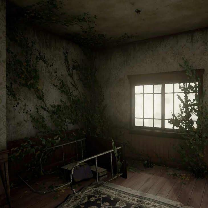 مدل سه بعدی هتل قدیمی Forgotten Hotel برای آنریل انجین
