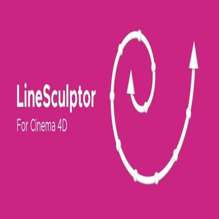 افزونه LineSculptor برای نرم افزار Cinema 4D