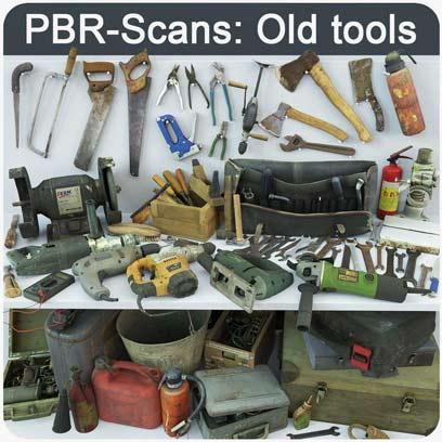 دانلود مجموعه ابزار های تعمیرات قدیمی PBR