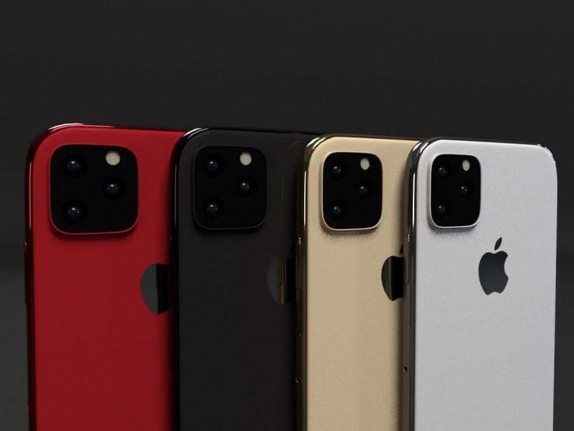 مدل سه بعدی موبایل آیفون 11 و 11 pro و 11 pro max در رنگ های مختلف