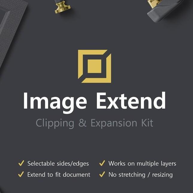 پلاگین گسترش تصویر Image Extend - Clip & Expand Kit برای فتوشاپ