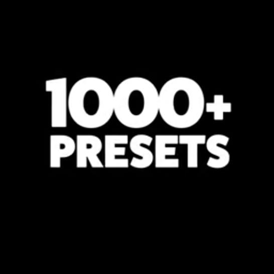 دانلود پلاگین پریست متن 1000+ Text Presets برای افترافکت
