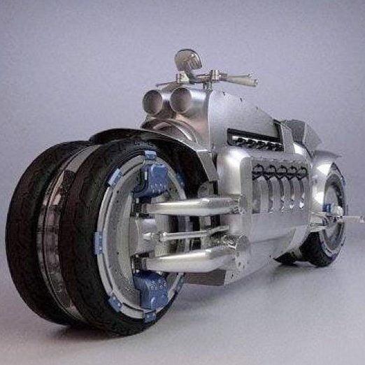 مدل سه بعدی موتور Dodge Tomahawk برای انواع فرمت ها