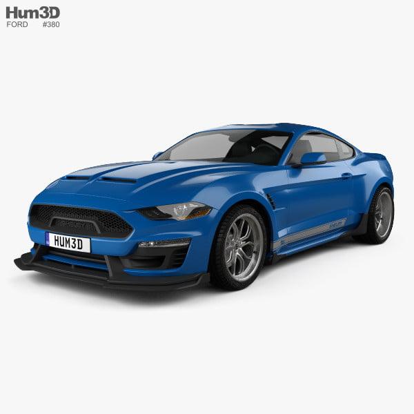 مدل سه بعدی اتومبیل فورد Ford Mustang Shelby برای انواع فرمت ها