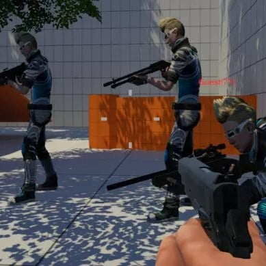 پروژه آماده بازی شوتر چند نفره آنلاین Multiplayer FPS Engine برای یونیتی