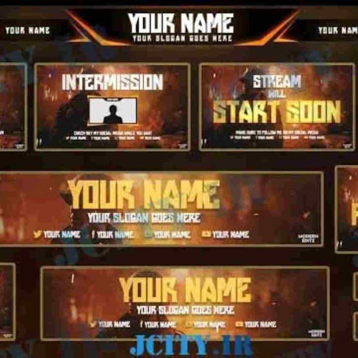 دانلود پکیج اورلی Call Of Duty WW2 برای استریم