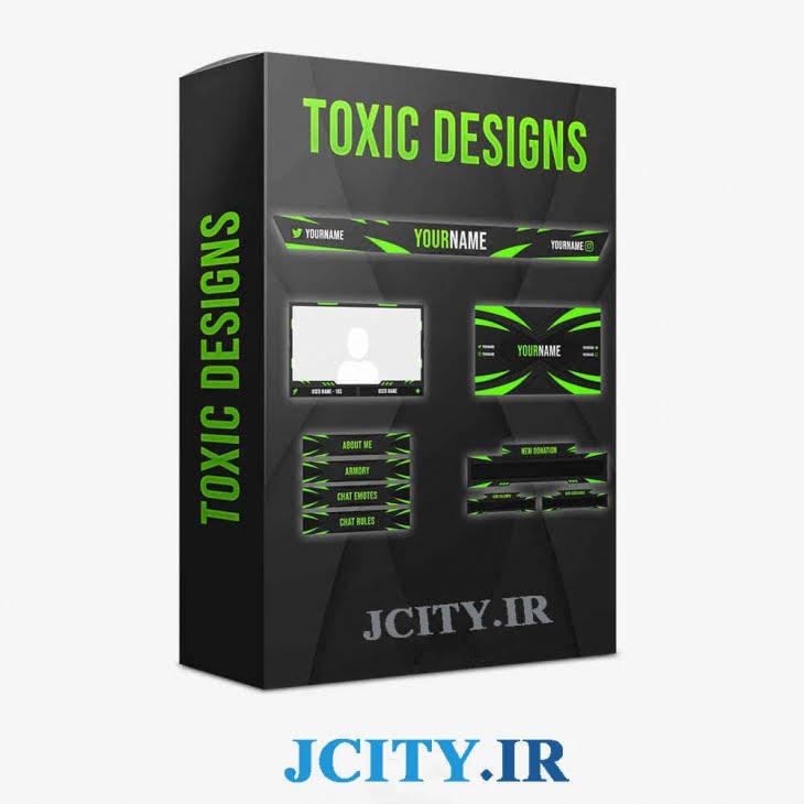 دانلود پکیج اورلی Toxic برای استریم