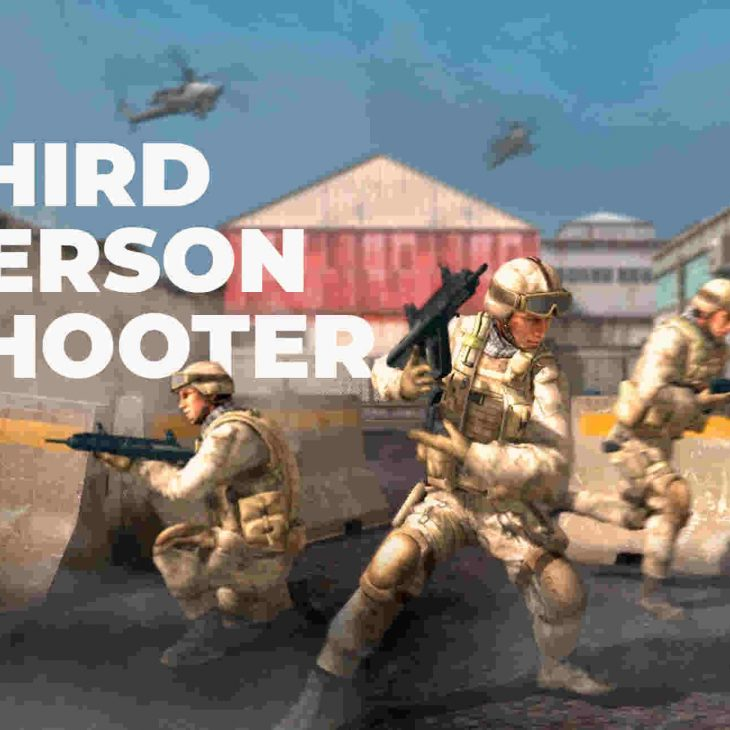 دانلود پروژه آماده تیر اندازی سوم شخص (TPS Shooter (Military Style برای یونیتی